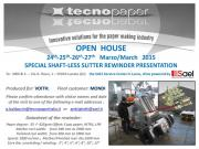 TECNOPAPER OPEN HOUSE AND NEW PRODUCT PRESENTATION